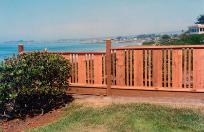 Fence with 1x8 and 2 1x2's